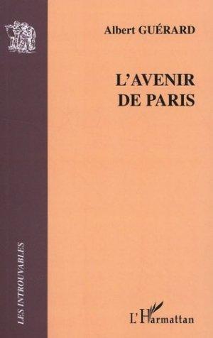 L'avenir de Paris - l'harmattan - 9782296015104 -