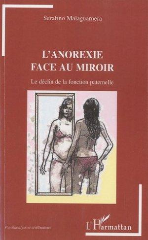 L'anorexie face au miroir - l'harmattan - 9782296111905 -