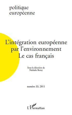 L'intégration européenne par l'environnement - l'harmattan - 9782296551947 -