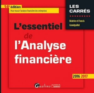 L'essentiel de l'Analyse financière - gualino - 9782297054614 -