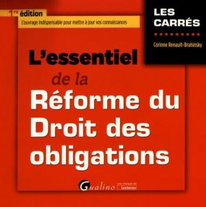 L'essentiel de la réforme du droit des obligations - gualino - 9782297055901 -