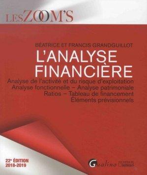 L'analyse financière - gualino - 9782297069205 -
