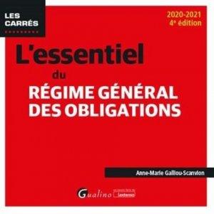 L'essentiel du régime général des obligations - gualino - 9782297092197 -