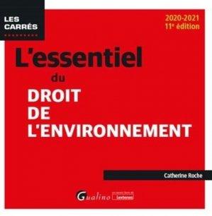L'essentiel du droit de l'environnement - gualino - 9782297092340 -