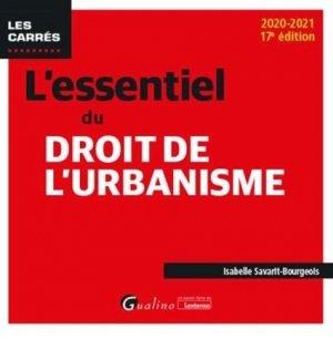 L'essentiel du droit de l'urbanisme - gualino - 9782297092371 -