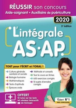 L'intégrale AS/AP 2020 - vuibert - 9782311206357 -