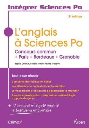 L'anglais à Sciences Po - vuibert - 9782311405651 -