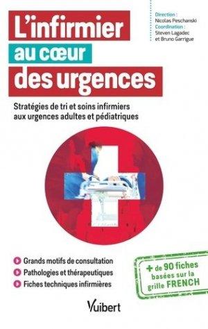 L'infirmier au coeur des urgences - vuibert - 9782311661187 -