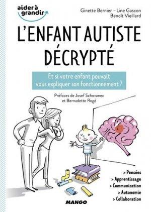L'enfant autiste décrypté - mango - 9782317020445 -