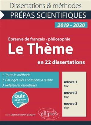 L'Amour en 23 Dissertations - Epreuve de Français / - Philosophie Prépas Scientifiques 2019-2020 - ellipses - 9782340024267 -