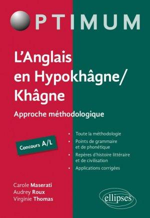 L'Anglais en Hypokhâgne / Khâgne - ellipses - 9782340036888 -