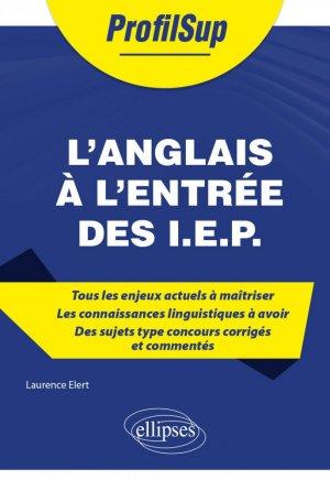 L'anglais à l'entrée des I.E.P. - Ellipses - 9782340048157 -