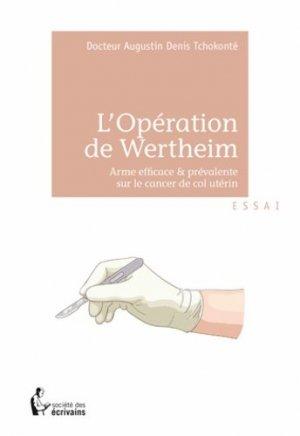 L'opération de Wertheim - societe des ecrivains - 9782342006599 -