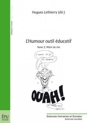 L'humour outil éducatif - societe des ecrivains - 9782342036671 -