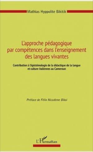 L'approche pédagogique par compétences dans l'enseignement des langues vivantes - l'harmattan - 9782343122922 -
