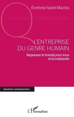 L'entreprise du genre humain - l'harmattan - 9782343153964 -