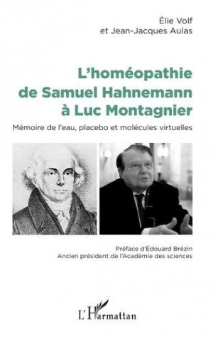 L'homéopathie de Samuel Hahnemann à Luc Montagnier - l'harmattan - 9782343165172 -