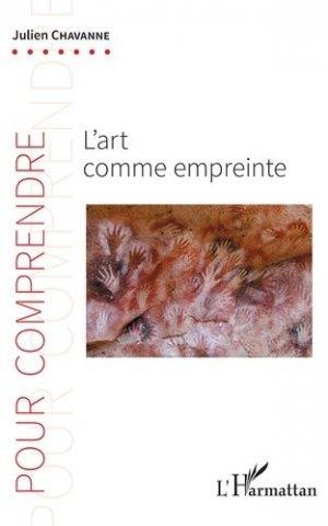 L'art comme empreinte - l'harmattan - 9782343168555 -
