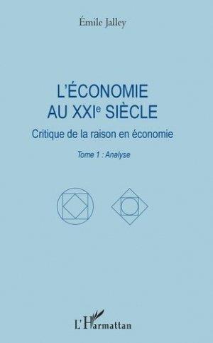 L'économie au XXIe siècle - l'harmattan - 9782343174587 -