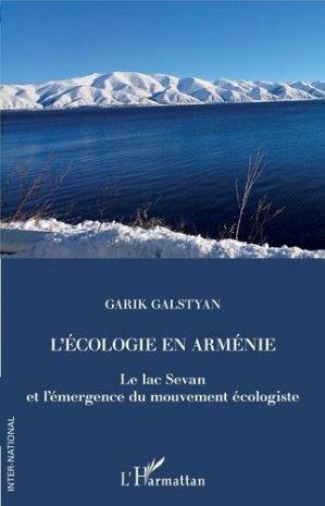 L'écologie en Arménie - l'harmattan - 9782343179827 -