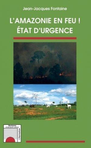 L'Amazonie en feu ! - l'harmattan - 9782343185057 -