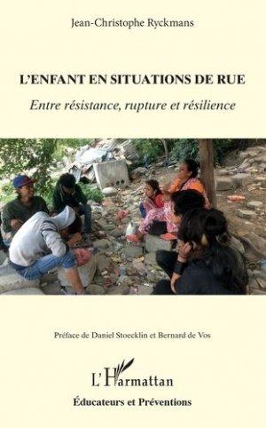 L'enfant en situation de rue - l'harmattan - 9782343187686 -