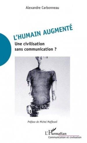 L'humain augmenté - l'harmattan - 9782343211534 -