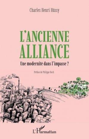 L'ancienne alliance - l'harmattan - 9782343217307 -