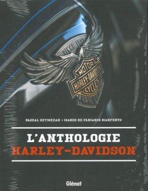 L'Anthologie Harley-Davidson - Glénat - 9782344034828 -