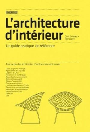 L'architecture d'intérieur - pyramyd - 9782350174587 -