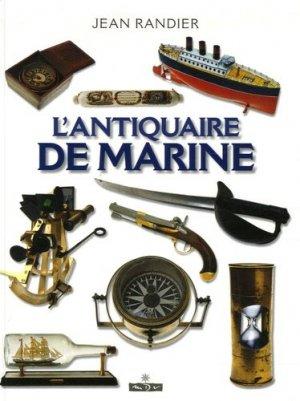 L'antiquaire de marine  - maîtres du vent - 9782352610021 -