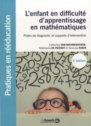 L'enfant en difficulté d'apprentissage en mathématiques - Solal - 9782353274260 -
