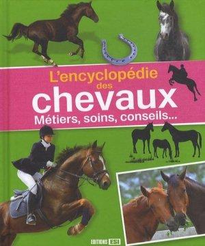 L'encyclopédie des chevaux - esi - 9782353557806 -
