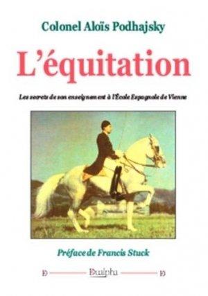 L'équitation - dualpha - 9782353743605 -