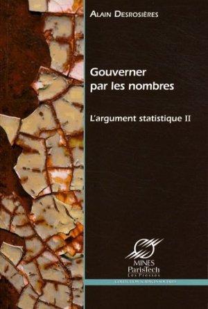L'argument statistique - presses des mines - 9782356710055 -