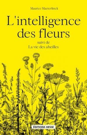 L'Intelligence des fleurs - hesse - 9782357060531 -