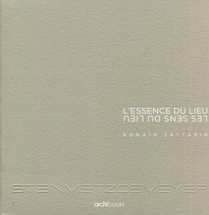 L'essence du lieu - archibooks - 9782357332942 -