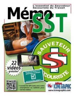 L'essentiel du Sauveteur Secouriste du Travail MEMOSST - icone graphic - 9782357385443 -