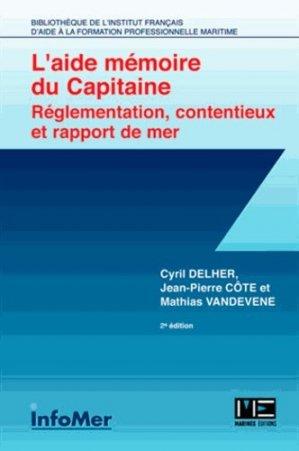 L'aide-mémoire du capitaine - infomer - 9782357431409 -