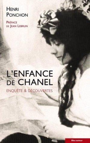 L'enfance de Chanel - Bleu autour - 9782358480789 -