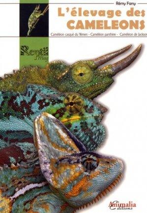 L'élevage des caméléons - animalia - 9782359090727 -