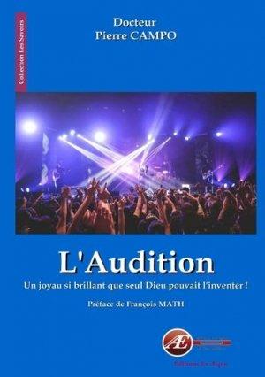 L'audition - ex aequo - 9782359629620 -