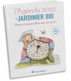 L'agenda 2020 du jardinier bio - terre vivante - 9782360984527