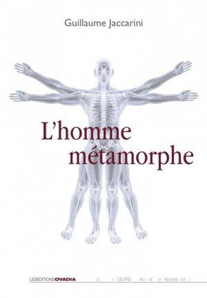 L'homme métamorphe - ovadia - 9782363920867 -
