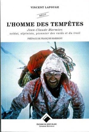 L'homme des tempêtes - du mont-blanc - 9782365450645