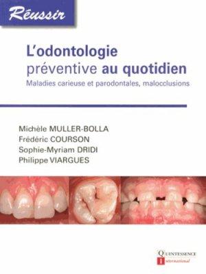 L'odontologie préventive au quotidien - quintessence international - 9782366150100