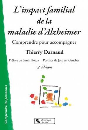 L'impact familial de la maladie d'Alzheimer - chronique sociale - 9782367175959 -