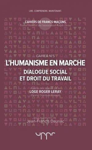 L'humanisme en marche - UPPR Editions - 9782371681163 -
