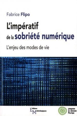 L'impératif de la sobriété numérique - materiologiques - 9782373612585 -