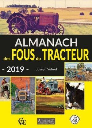 L'almanach des fous du tracteur 2019 - cpe - 9782374000787 -